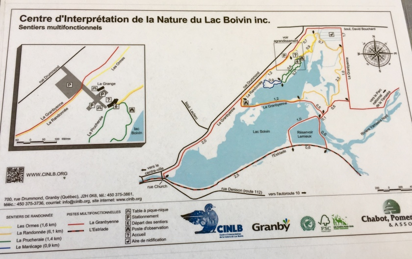 Centre d'interprétation de la Nature du Lac Boivin