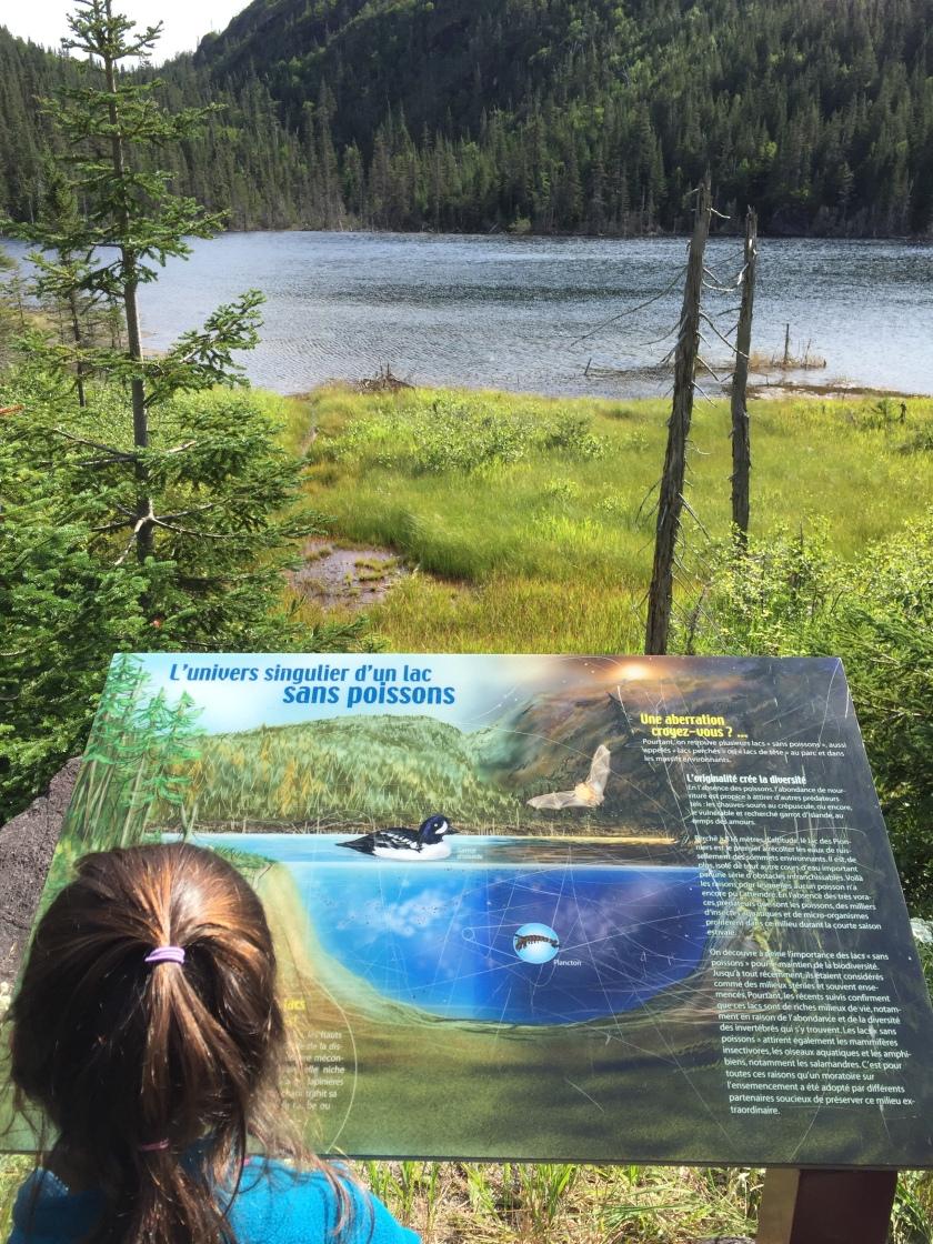 Sepaq Monts Valin National Park Lac des Pionniers