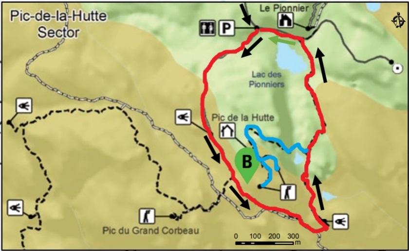 Sepaq Monts Valin National Park sector pic de la Hutte