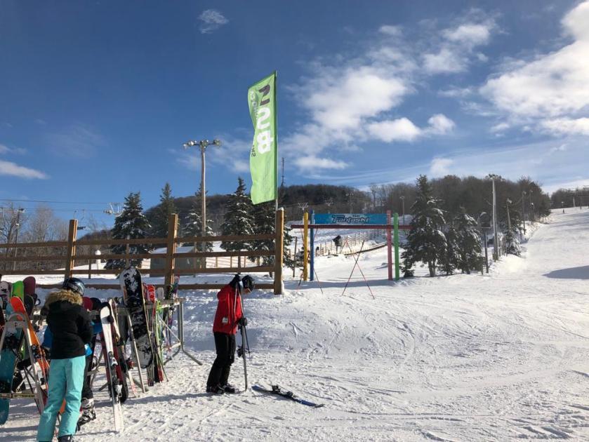 Ski Saint-Bruno near Montreal