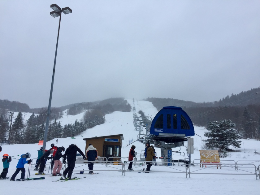 Ski Stoneham near Quebec City