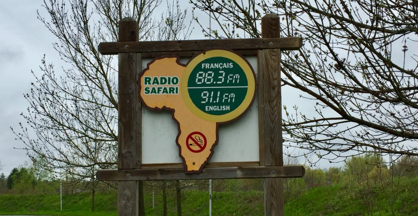 Parc Safari radio station