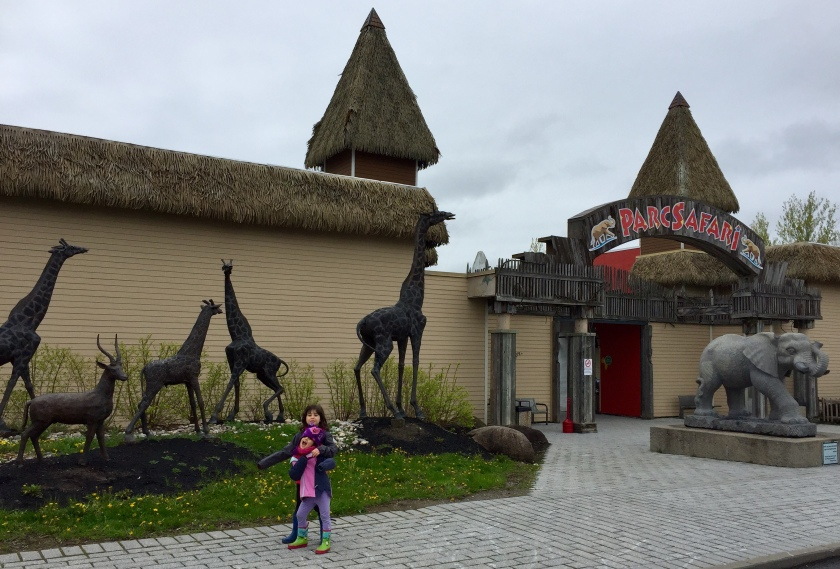 Parc Safari main entrance